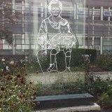 Gedenkbeeld Dijklanderziekenhuis