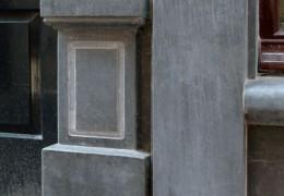 Gevelbekleding natuursteen Hoorn