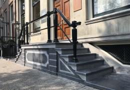 trapbekleding en bordesplaten