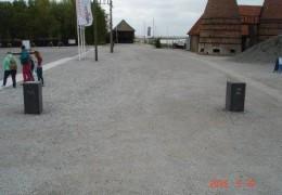 Grenspalen waterwerken Zuiderzeemuseum Enkhuizen